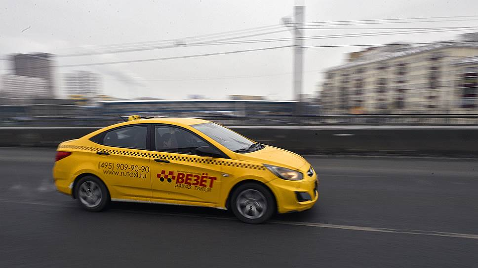 такси везёт солярис ТТК