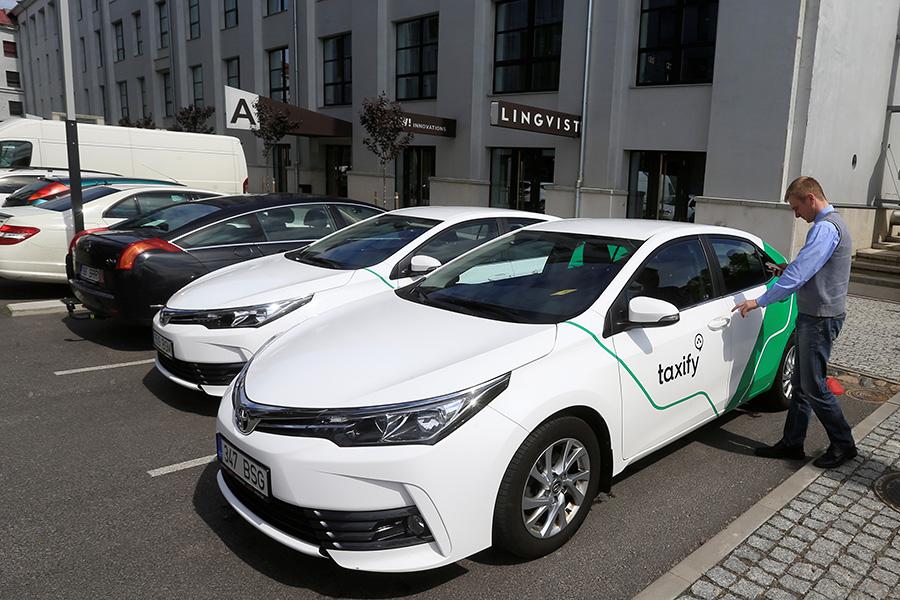 Taxify машины в эстонии